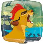 "9"" Lion Guard"" Foil Balloon Square, A20, bulk, 23cm"