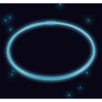 Glow Necklace Blue Plastic 56 cm