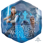 "SuperShape ""Star Wars The Last Jedi"" Foil Balloon , P45, packed, 55 x 58cm"