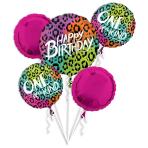 Bouquet Wild Child Foil Balloon P75 Packaged