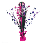 Spray Centrepiece 18 Sparkling Celebration - Pink Foil / Paper 45.7 cm