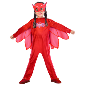 Child Costume PJ Masks Owlette Good Age 5 - 6 Years