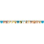 Letter Banner Rusty Rivets Paper 218 x 12 cm