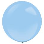 "4 Latex Balloons Decorator Standard Pastel Blue 61 cm / 24"""