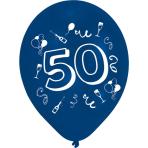 8 Latex Balloons 50 2 Sided Print 25.4 cm/10''