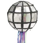 Pull Pinata Disco Ball Paper / Plastic 26.6 x 26.6 x 26.6 cm
