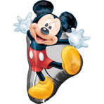 SuperShape Mickey Full Body Foil Balloon P38 Packaged 55 x 78 cm