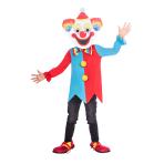 Children's Costume Carnival Clown Big Head 4-6yrs
