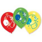 "6 Latex Balloons Balloons 22.8 cm / 9"""
