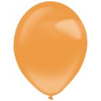 "50 Latex Balloons Decorator Crystal Tangerine 35 cm / 14"""
