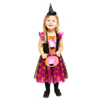 Child Costume Peppa Orange Dress Age 3-4 Years