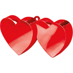 Balloon Weight Double Heart Red 170 g/6 oz