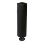 Metal Cylinder with magentic base for mini balloons 18 x 5cm