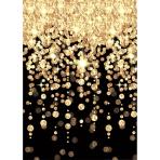 Scene Setter Room Roll Cascading Lights Glitz & Glam Plastic 1.2 x 12.1 m