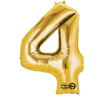 SuperShape 4 Gold Foil BalloonP50 Packaged 66 x 88 cm