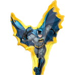 Mini Shape Batman Action Foil Balloon A30 Bulk