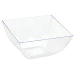 10 Bowls Clear Plastic 473 ml