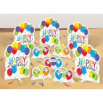 Table Decorating Kit Balloon Bash Paper / Foil 11 Pieces 29.2 cm / 10.7 cm / 14.1 g