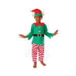 Child Costume Elf Age 6 - 8 Years