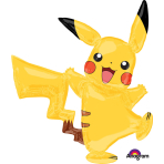 "AirWalkers ""Pikachu"" Foil Balloon, P93, packaged, 132 x 139 cm"