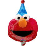 "Mini Shape ""Sesame Street Fun""Foil Balloon, A30 , bulk, 20 x 27 cm"