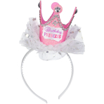 Head Band Crown Princess Birthday Paper / Plastic / Fabric 21.5 x 11.4 cm