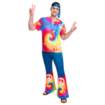 Adult Costume 60's Free Spirit Man Size XL