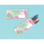 12 Crayon Boxes Magical Unicorn 10.4 x 8.5 cm