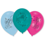 10 Latex Balloons Frozen 25.4 cm