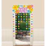Door Curtain Hibiscus 137 x 96.5 cm