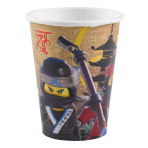 """8 Cups """"Lego Ninjago"""", 250 ml"""
