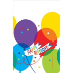 Tablecover Brilliant Balloons Plastic 137 x 243 cm
