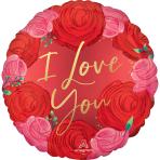 Standard Satin Luxe I Love You Rosen S40