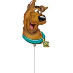 Mini Shape Scooby-Doo Head Foil Balloon A30 Airfilled