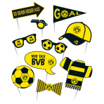 Photo Booth Kit BVB Dortmund Paper 10 Pieces