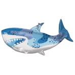 SuperShape Shark Foil Balloon P35 Packaged 96 x 45 cm