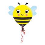 Junior Shape Happy Buzz'n Bee Foil Balloon S50 Packaged 55 x 53 cm