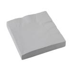 20 Napkins Silver 33 x 33 cm