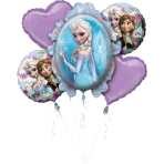 "Bouquet ""Disney Frozen"" 5 Foil Balloons, P75, packed"