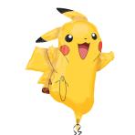 "SuperShape ""Pikachu"" Foil Ballloon, P38, bulk, 62 x 78 cm"