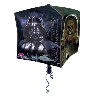 "UltraShape Cubez ""Star Wars"" Foil Balloon, G40, packaged, 38 x 38 cm"