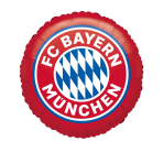 Standard FC Bayern Munich Foil Balloon S60 Packaged