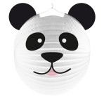 Lantern Formshaped Panda Paper 25 cm
