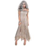 Ladies' Costume Undead Bride Size M/L