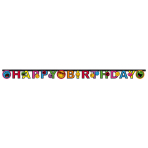 Banner Smiley Express Yourself180 x 15 cm
