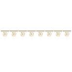 Pennant Banner Golden Anniversaries Foil 396 x 20.1 cm