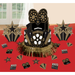 Table Decorating Kit Glitz & Glam Paper / Foil 23 Pieces 32.6 cm / 17.2 cm / 5 cm
