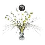 Spray Centrepiece Sparkling Celebration age 70