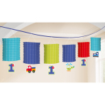 Lantern Garland All Aboard Birthday 365 cm