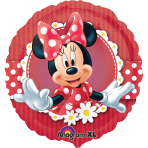 Standard Mad About Minnie FoilBalloon S60 Packaged 43 cm